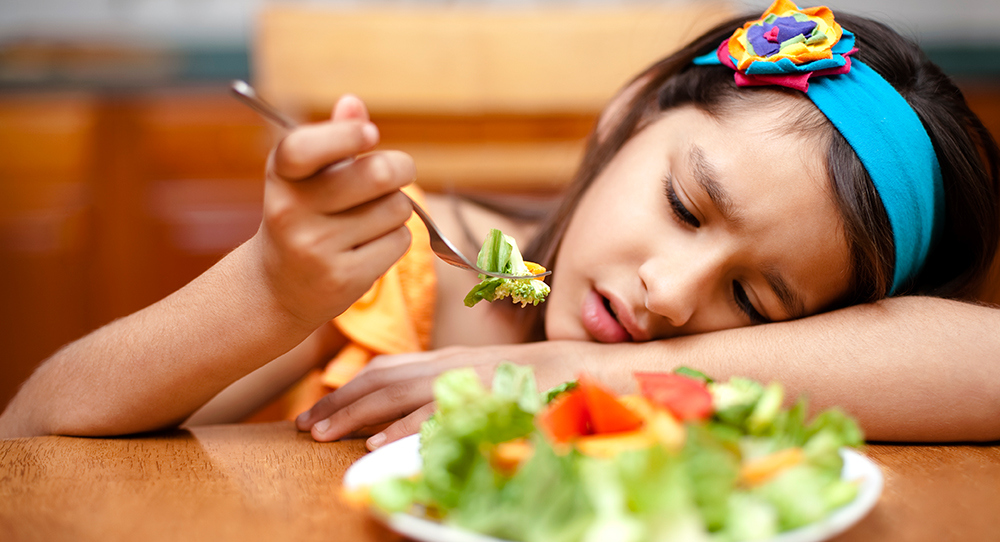 Get your kids to like healthy foods