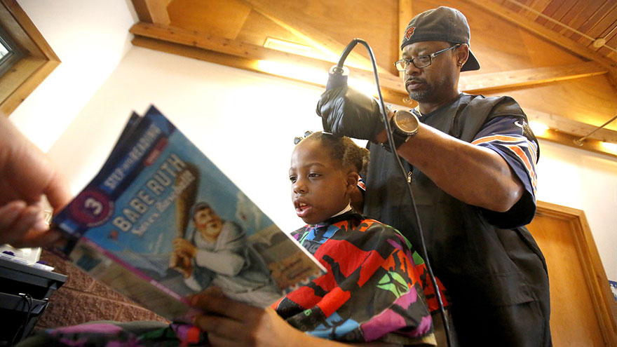 barber free haircut read books courtney holmes 8