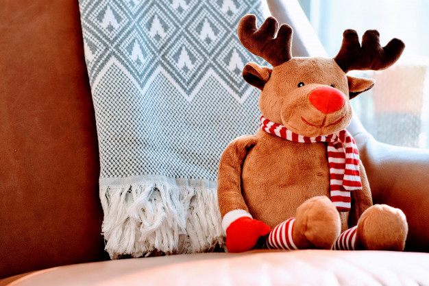 reindeer plush toy christmas concept 1320 864