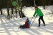 С дете през зимата