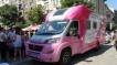 Розовият кемпер тръгва из страната