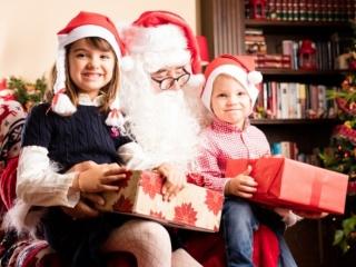 Ало? Обажда се Дядо Коледа!