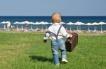 С деца на море в Гърция