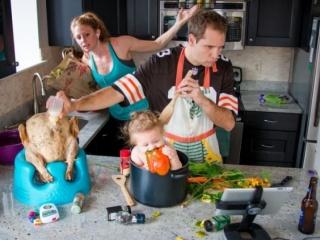 Семейният живот калява