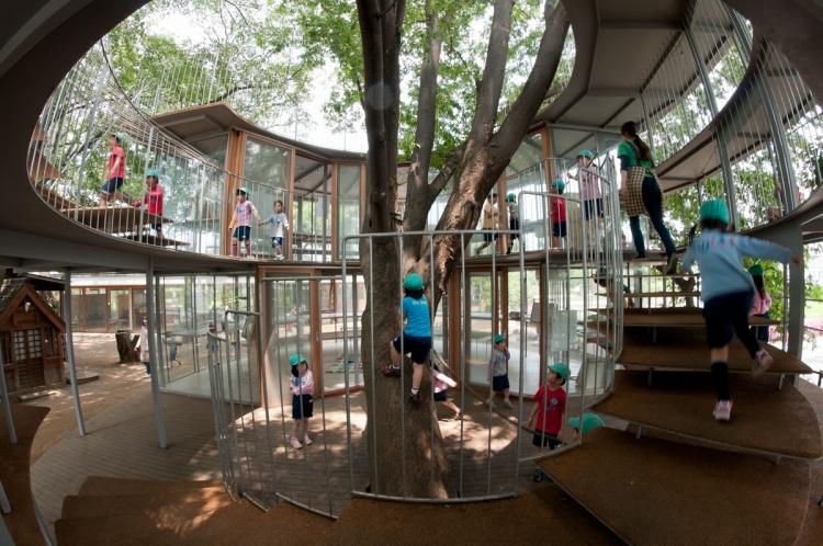 """""""Фуджи"""" – детска градина от нов тип в Япония"""